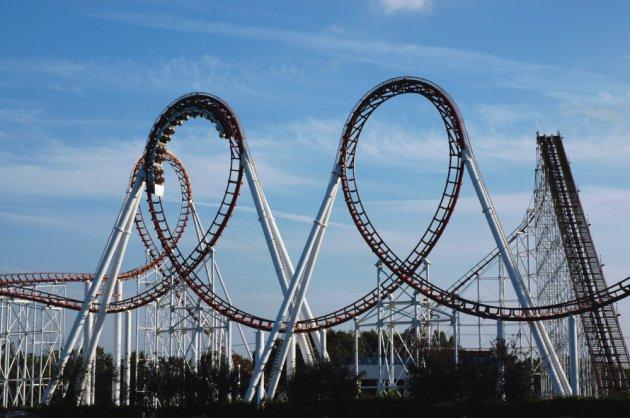 double-loop-roller-coaster