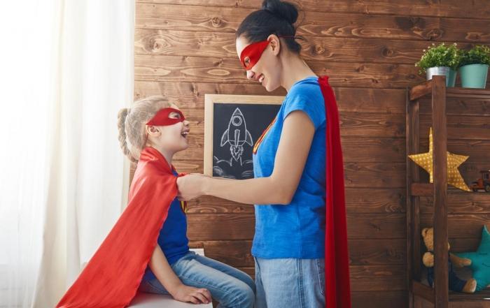 girl-and-mom-in-superhero-costume